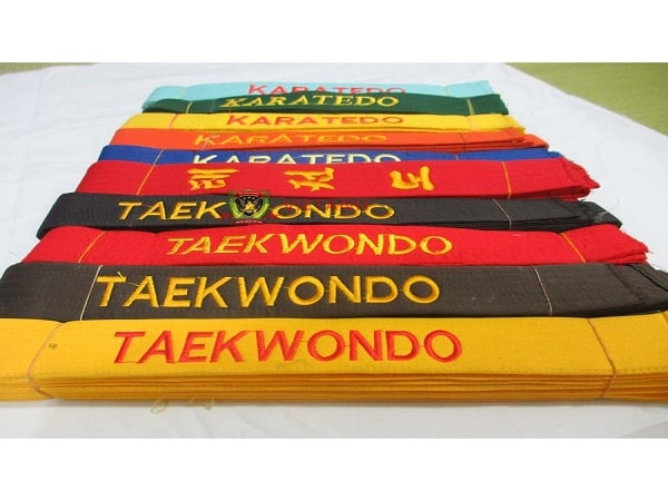 Taekwondo có mấy đai? Tìm hiểu về các đai trong Taekondo