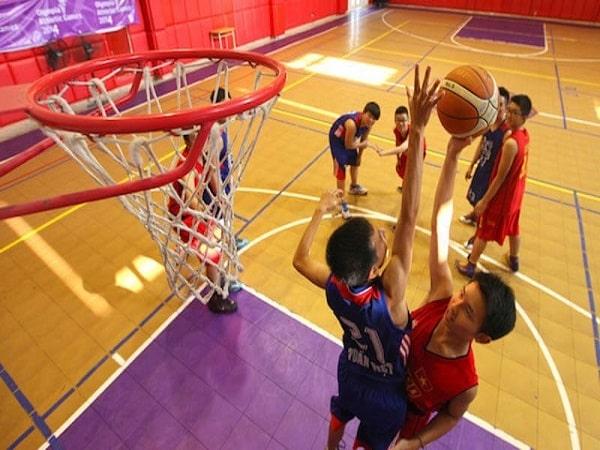 bóng rổ- môn thể thao tăng chiều cao